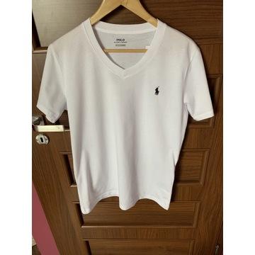 T-shirt męski Polo Ralph Lauren biała nowy