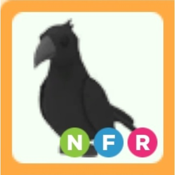 Roblox Adopt Me Crow NFR neon