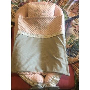 Kokon plus kołderka i poduszka