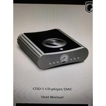 Instrukcja obsługi od odtwarzacza Gato Audio CDD-1