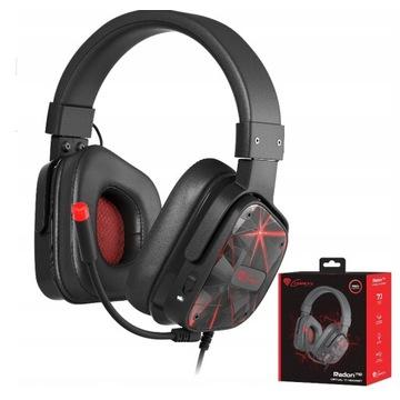 Słuchawki z mikrofonem dla gracza.Genesis Radon710