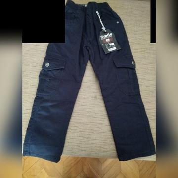 Ocieplane spodnie chlopiece