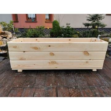 Donica drewniana , donice drewniane - DUŻA