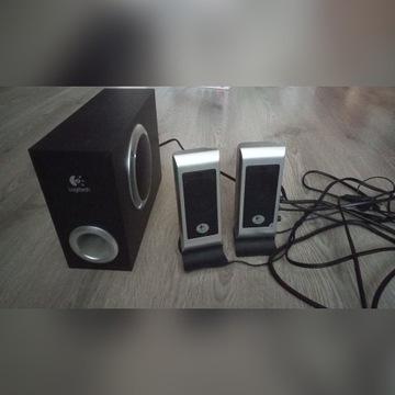 Głośniki Logitech 2.1 S200 Black subwoofer