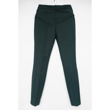 Massimo Dutti nowe spodnie butelkowa zieleń r.S/36