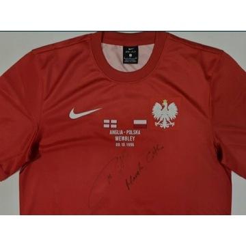 Polska Nike Citko Autograf koszulka S Wembley