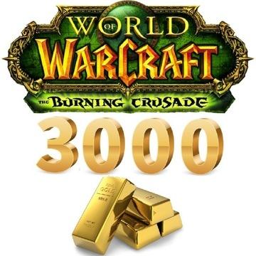 3000 GOLD   KAŻDY SERWER   ALLY/HORDA   WoW TBC