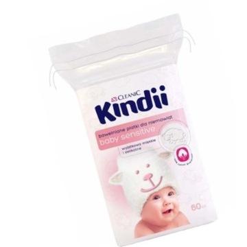Cleanic Kindii baby sensitive 40 szt.