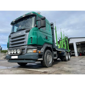 Scania R 420 do drewna