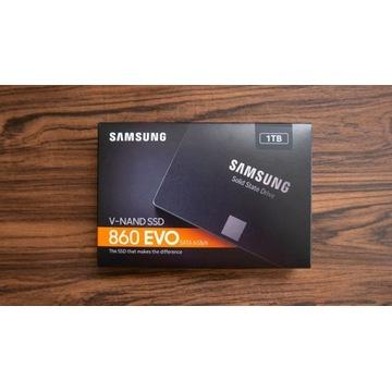 "SAMSUNG EVO 860 1TB SSD SZYBKI DYSK 2.5"" SATA"