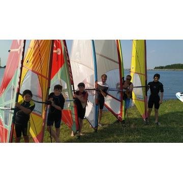 Kurs Windsurfing / Szkoła Windsurfingu Wakacje HB.