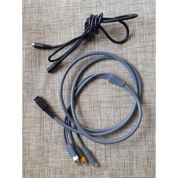 Kabel HQ A/V do Atari 8bit (S-Video) + przedłużacz