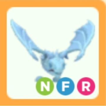 Roblox Adopt Me Frost Dragon NFR neon FR