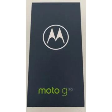 Całkowicie NOWA Motorola Moto G50 komplet