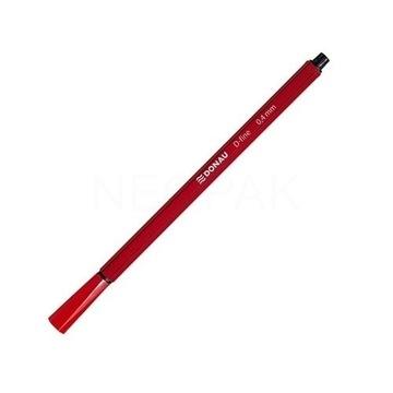 cienkopis Donau D-Fine 0,4mm czerwony pakiet 2 szt