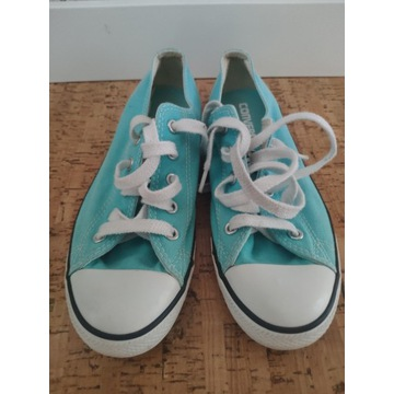 trampki uniseks Converse niebieskie niskie modne