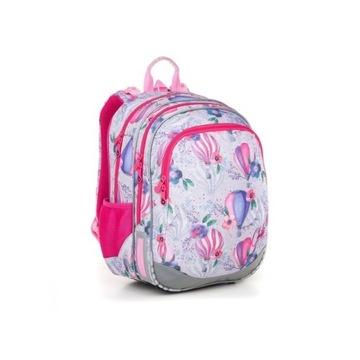 TOPGAL Plecak szkolny ELLY dla dziewczynek