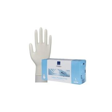 Rękawiczki lateksowe L bez pudru