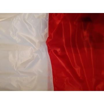 POLSKA FLAGA BOAŁO CZERWONA