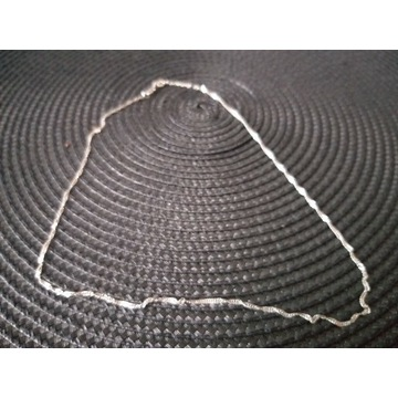 Łańcuszek srebrny damski