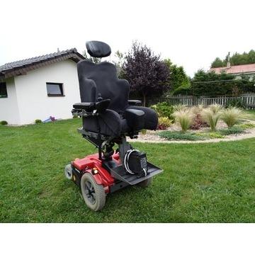 Wózek inwalidzki elektryczny Permobil z windą