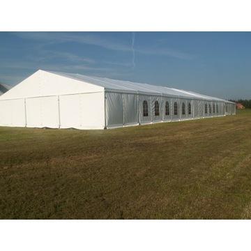Hala namiotowa używana 600m², aluminiowa, magazyn