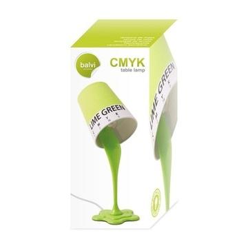 Balvi lampa biurowa CMYK lime green