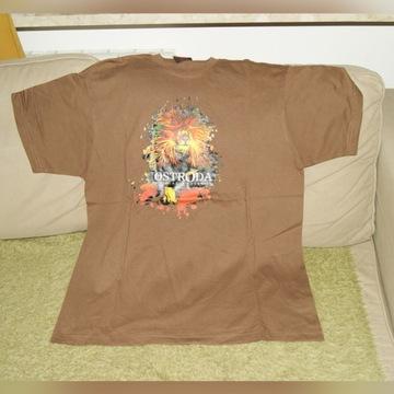 OSTRÓDA REGGAE FESTIVAL 2008 (t-shirt) nowa rare