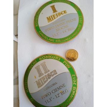 Odznaka Konsumencki Konkurs Piwo Jasne Pełne
