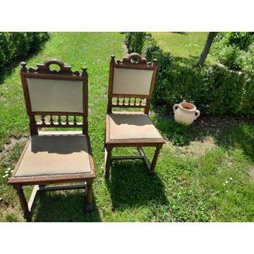 Krzesła używane, stare