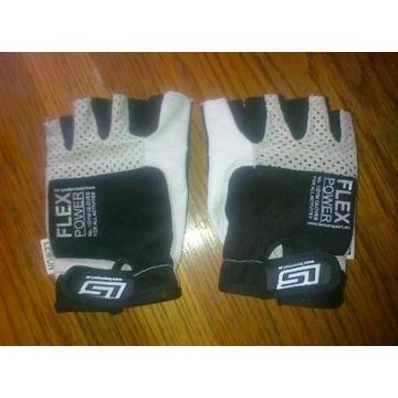 Rękawice na siłownie rowerowe nowe marki FLEX POWE