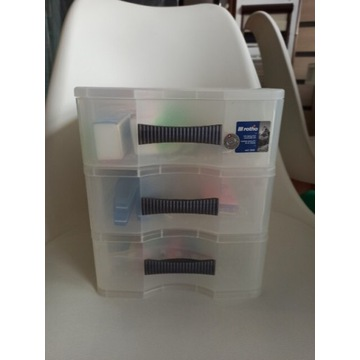 Pudełko, organizer, szufladki