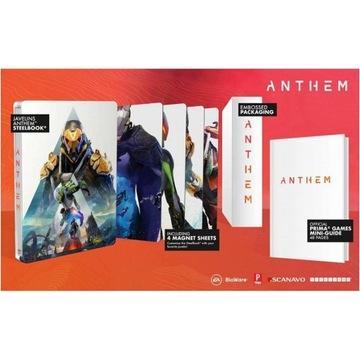 [ Anthem ] Javelins STEELBOOK + 4 Art Magnets