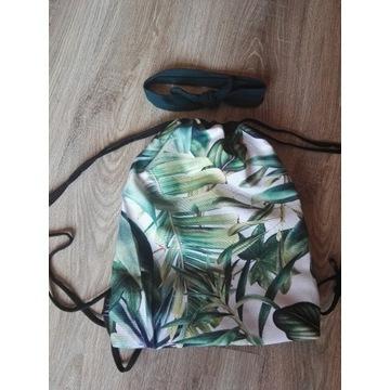Plecak worek w liście