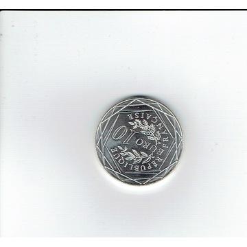 srebrne 10 euro -EURO 2016