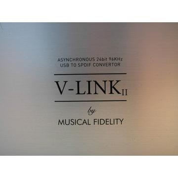 """""""V-LINK II"""" konwerter USB SPDiF Musical Fidelity"""