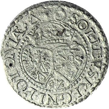 Zygmunt III Waza, Szeląg 1592, Malbork, mała data
