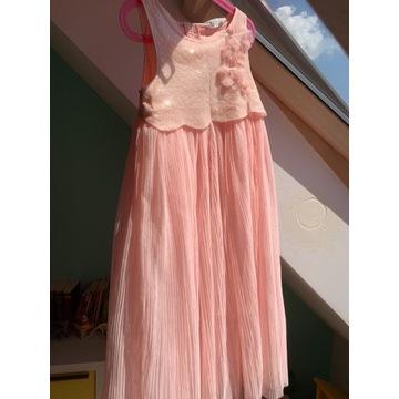 Balowa sukienka dla księżniczki H&M 134