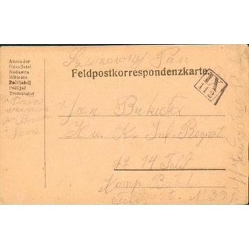 1916-Błażowa (Rzeszów) - kamuflaż.st.okręg. IX-112