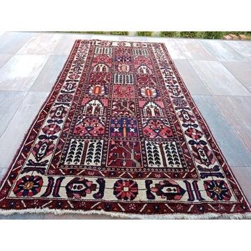 Piękny wełniany kwateralny dywan 150x300cm