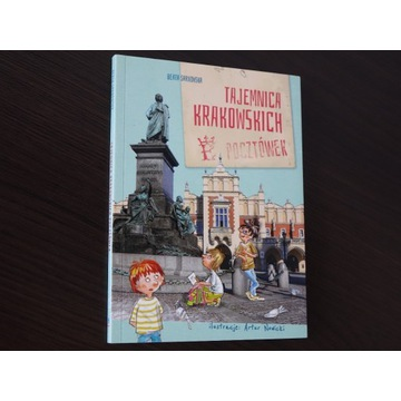 Tajemnica krakowskich pocztówek książka dzieci