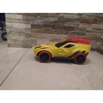 Hot Wheels Hyper Racer Duże, światło, dźwięk.
