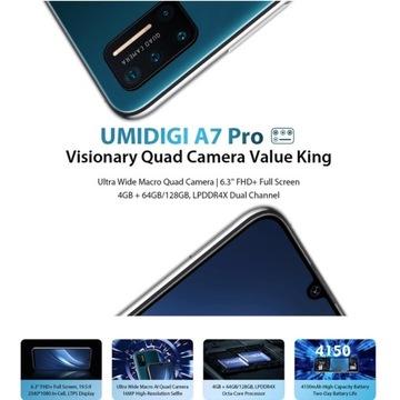 UMIDIGI A7 PRO VISIONARY QUAD CAMERA VALUE KING