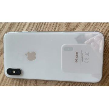 iPhone X 256GB. Biały. Jak nowy