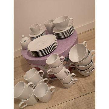 NOWY Zestaw z porcelany kawowy dla 6 osób -37 el.