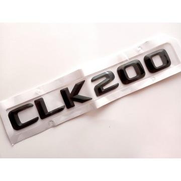 Mercedes CLK 200 W208 W209 - emblemat czarny mat