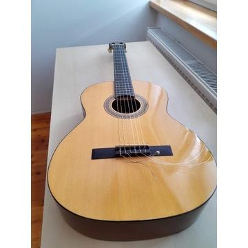 Piękna gitara hiszpańska klasyczna 4/4 Elvira 470G
