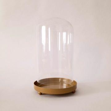 Osłonka szklana na sukulent