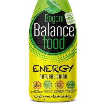 Napój energetyzujący BBF ENERGY cytryna-limonka