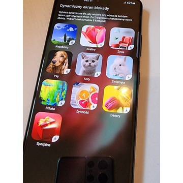 Samsung Galaxy S21 Ultra czarny jak nowy 12/128gb